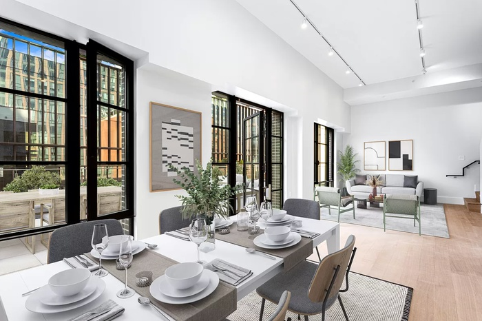 Huge West Chelsea Penthouse with Wraparound Terrace