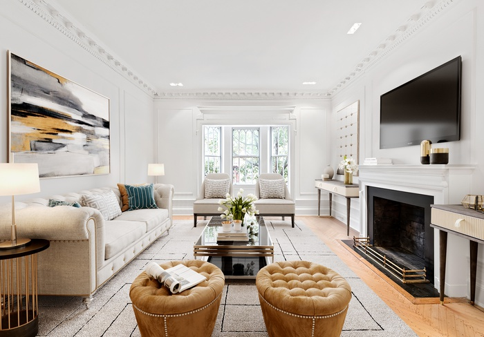 LIMESTONE ELEGANCE IN OUR PARK SLOPE TOWNHOME