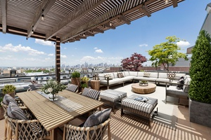 Park Slope Penthouse with Outdoor Oasis and Private Garage