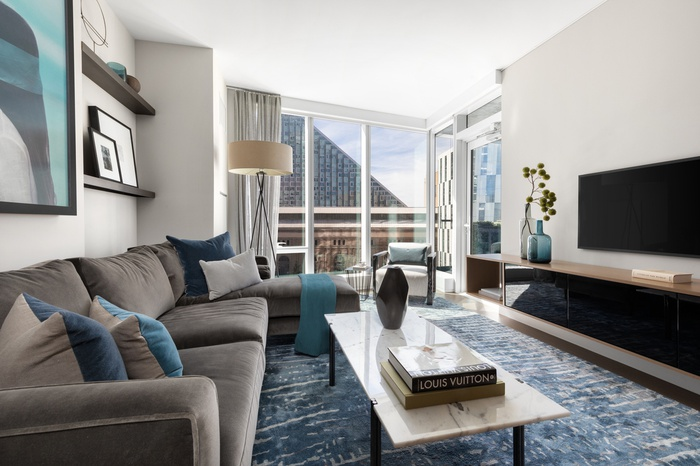 2 Bedroom with over 1 Thousand SQ Foot Terrace in Premier UWS Luxury Building