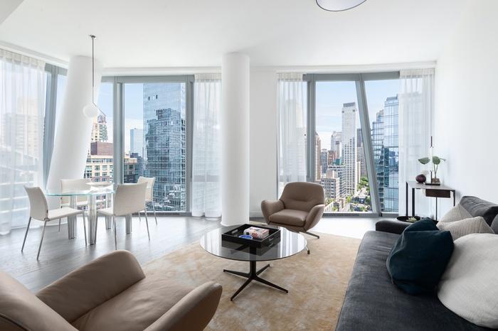 Huge and Light-Filled UWS 1 Bedroom in Top of the line Luxury Building