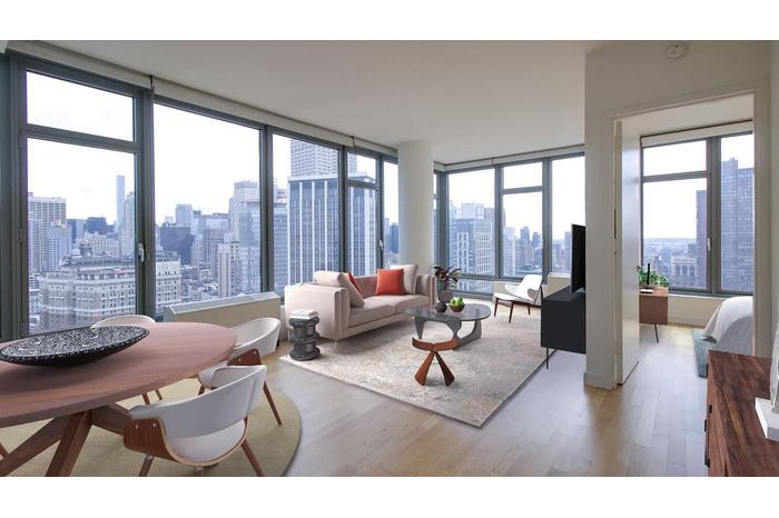 Chelsea Penthouse with Massive Terrace in Premier Beatrice Building
