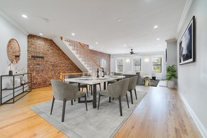 Sprawling 3000 Sqft Duplex Home located in Downtown Jersey City with Outdoor Space!  Washer/Dryer In Unit!