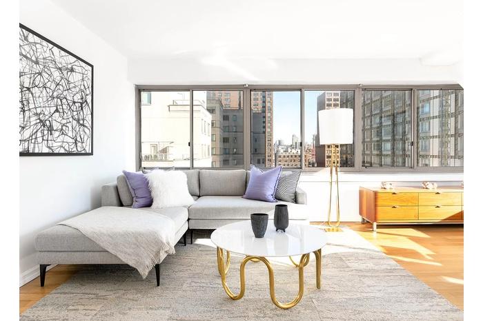 Huge UES 2 Bedroom / Flex 3 in Former FBI Headquarters turned Luxury Residential