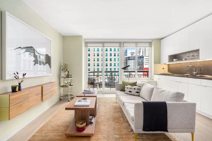 Amazing Midtown South 2 Bedroom Penthouse with Skyline Views and Private Terrace