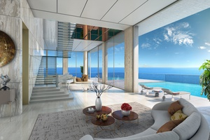MIAMI   LUXURY BEACHFRONT TWO-STORY PENTHOUSE WITH PRIVATE TERRACE AND POOL   6 BEDS   8 BATHS  THE ESTATES AT ACQUALINA