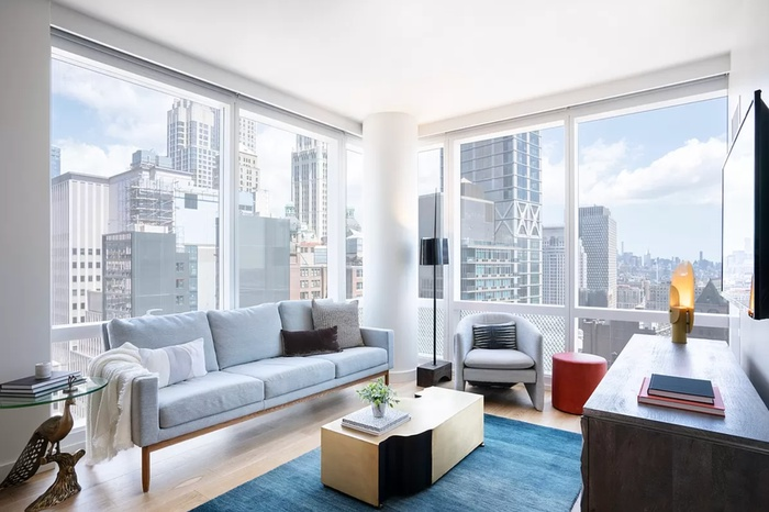 Huge 1 Bed + Home Office in Brand New Fidi Luxury Building