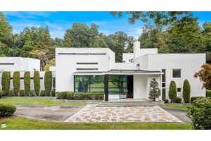 Modern Architectural Estate on Two Private Acres in Brookville