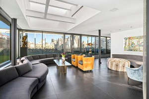 JUST REDUCED ! Magnificent, modern penthouse set atop one of the finest co ops on The Upper East Side.