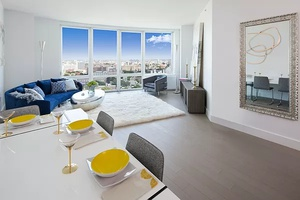*No fee*, Iconic 2 bed/ 2 bath apartment, in Downtown Brooklyn, w/ private balcony and spectacular Manhattan views