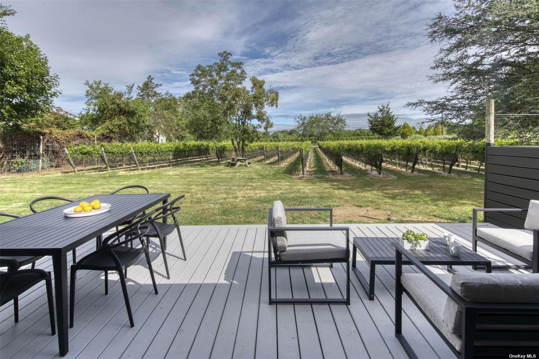 vineyard deck
