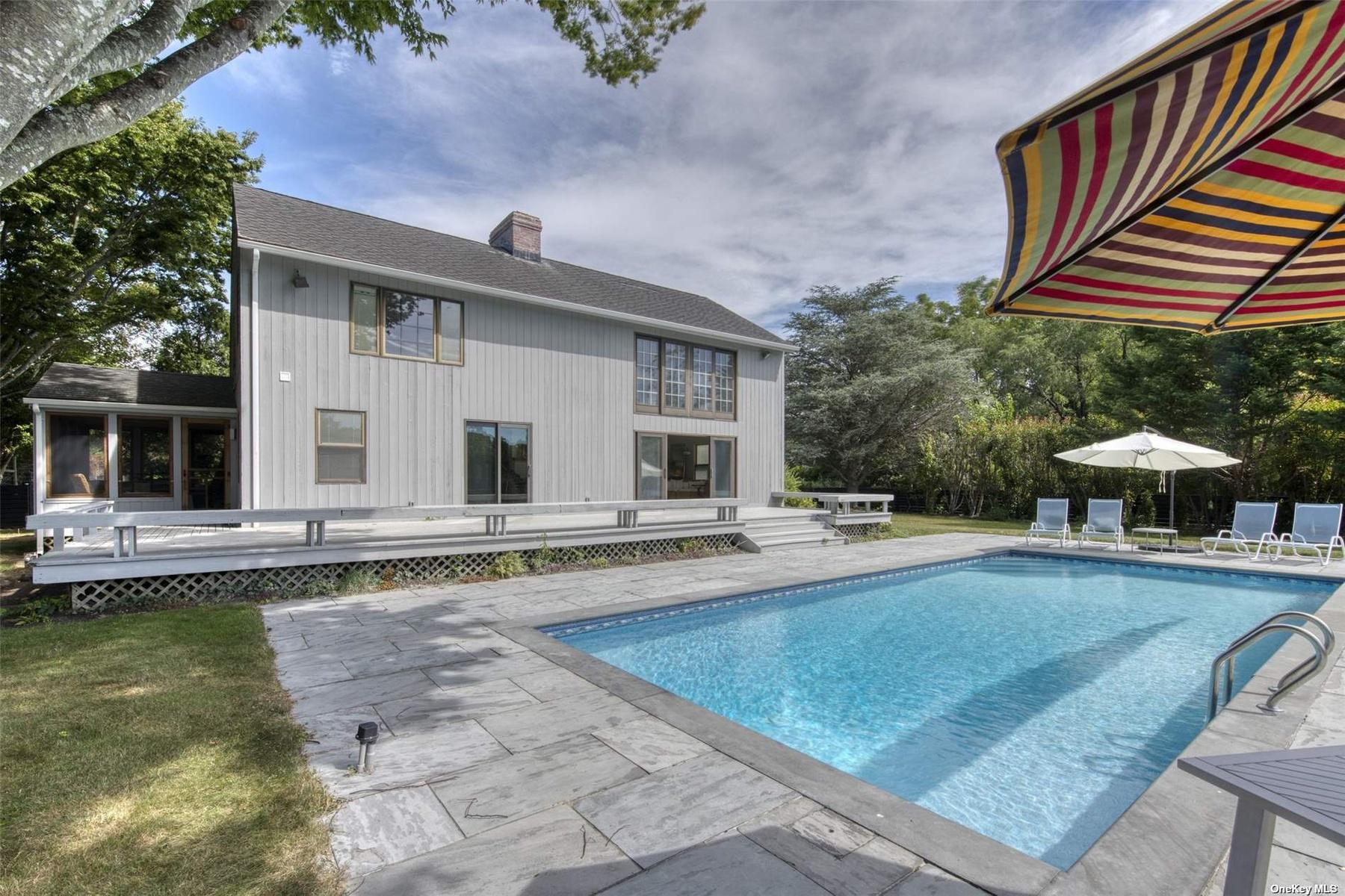 Modern Farmhouse with pool