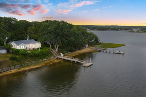 Waterfront with Dock in Sag Harbor Village!