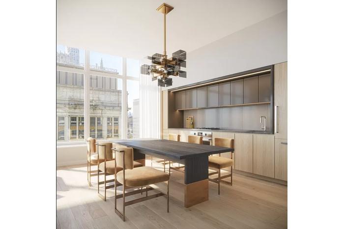 Large Split 2 Bedroom 2 Bath in Brand New Luxury Fidi Building