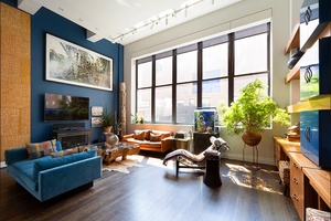 West Village Industrial Loft Turned Luxury 3 Bed 3 Bath Duplex