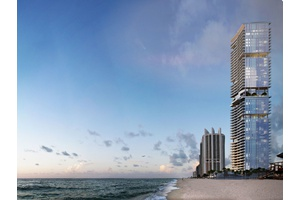 Miami Beach | Ocean and intercostal views | Turnberry Ocean Club Residences |  Duplex