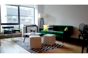 Two Bedoom Loft On Brooklyn's Luxury Row