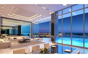 Echo Brickell (Miami Luxury Water View Penthouse)
