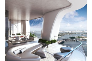 Full Floor Residence of Zaha Hadid's One Thousand Museum