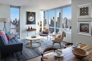 No Fee Luxury 2 Bed/2 Bath Apartment in Amenity Filled Luxury Downtown Brooklyn Building with W/D in Unit