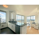 LOVELY 1 BEDROOM NESTED WITH MANHATTAN SKYLINE VIEWS: NO FEE