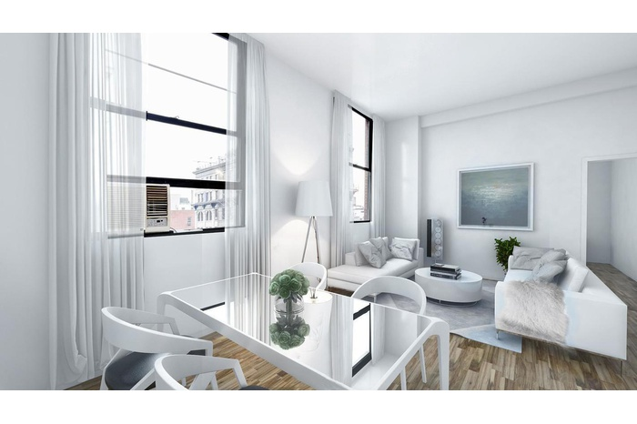 Large Sunny Loft-like Renovated One Bedroom Apartment in Noho for Rent