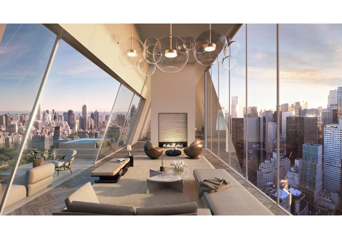 Iconic Landmark Triplex Penthouse With Central Park As Your Backyard