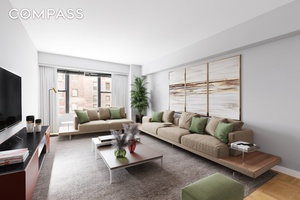 With windows in literally every room with views of the Chrysler Building, this high floor one bedroom co op is a sunny escape with unbeatable storage in ultra convenient Murray ...
