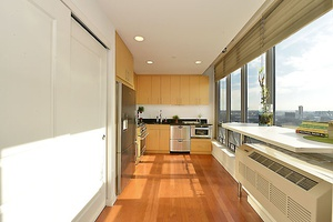 East River views with Manhattan Skyline  and 130 SF private balcony in long Island city