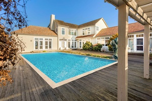 Incredible Sag Harbor Bay Front With Pool!
