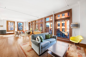 Enjoy brilliant light and open views from 16 oversized windows in this sprawling 2, 200 square foot Prewar loft located right at the crossroads of Soho, Noho and Greenwich Village.