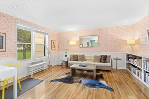 This gorgeous 1 bedroom co op in Windsor Terrace is large, renovated and airy and was just featured in the New York Times On the Market column.