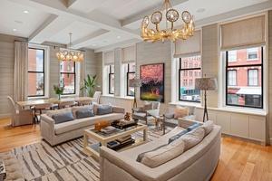 Impressive celebrity designer 5 bedroom residence in historic Tribeca