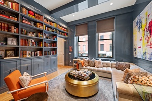 Impressive celebrity designer 5 bedroom residence in historic Tribeca