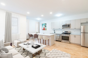 Beautifully Renovated 2 Bedroom 1.5 Bath Apartment in Uptown Hoboken!  Elevator Building!  No Broker Fees!