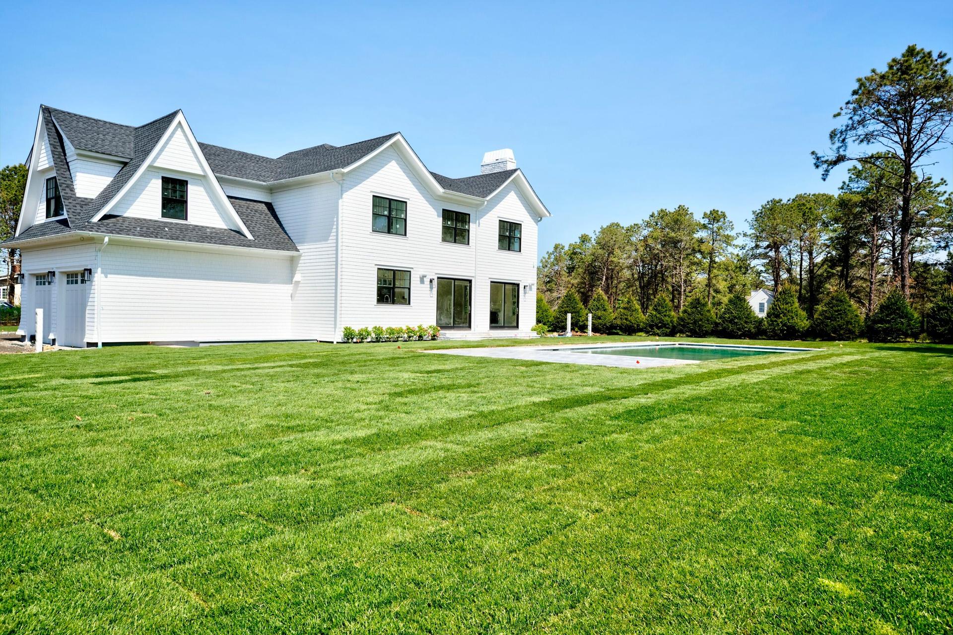 Large open Lawn