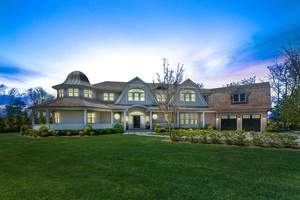 8 Bedroom New Construction Country Estate Overlooking 50 Acres in Southampton