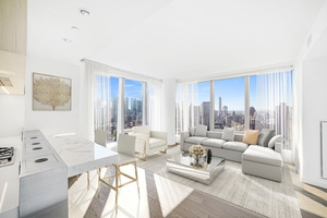 Be the first to live in 2BD 2BA Residence w/ Skyline Views at the Luxurious One Manhattan Square
