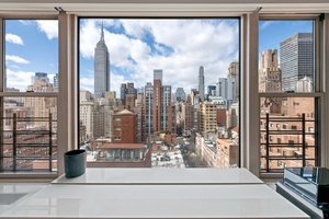 Incredible Panoramic Views in Bright Murray Hill 2-Bedroom Duplex