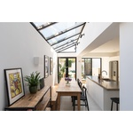 Stylish four bedroom family home with beautifully extended kitchen/diner, exposed brickwork  and low maintenance garden  in the heart of buzzing Peckham Rye.