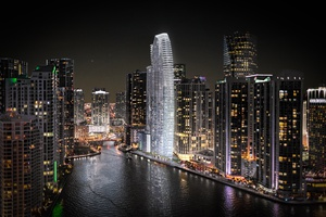 SKY LEVEL FULL FLOOR PENTHOUSE | Ocean Front | Water Access | The Aston Martin Luxury Apartments | Miami
