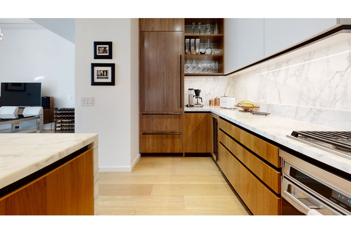 2 Bed 2.5 Bath @ One West End with Extra High Ceilings and Open City Views