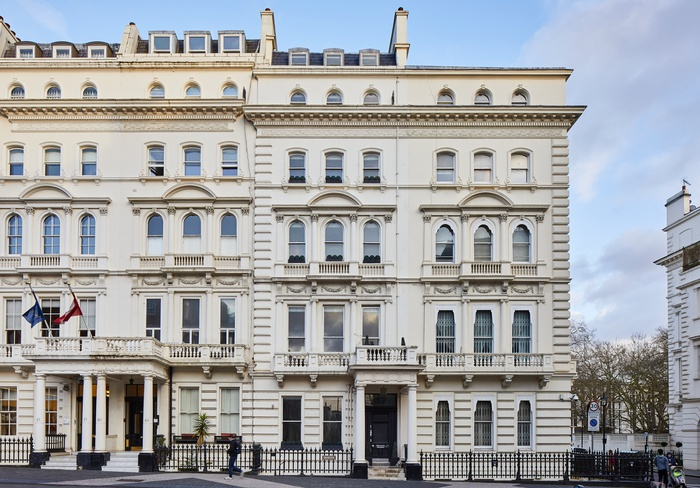 Over 9000sqft, meticulously renovated landmark house bordering Knightsbridge & South Kensington.