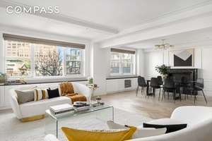 Rarely available, mint condition three bedroom two bathroom residence in one of the West Village s most prestigious buildings.