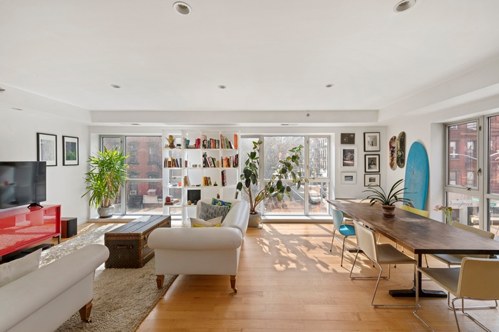 Chic LES Condo with Two Balconies and Sleek Finishes