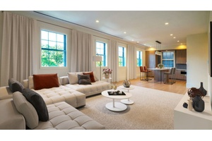 Beautiful top floor three bedroom apartment w/ three full bathrooms, looking directly into Central Park! No Fee!