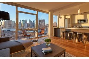 DUMBO - TWO BEDROOM - Brooklyn Bridge & Wall Street Views/ Luxury Amenities High-Rise Building/ Sky Terrace/ Waterfront, Park & Jane's Carousel attractions just minutes away