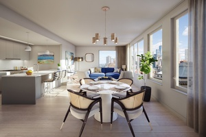 Brooklyn Heights *Three Bedroom-Two Bath* Private Balcony / Hi-Rise/ Luxury Amenity / 24-Hour Concierge / Outdoor Rooftop / Terrace / BBQ Space / Lounge Room / Fitness Center/ Yoga Room / Freedom Tower Views / Minutes to Manhattan
