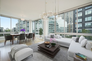 Luxury 3 bedroom 3 bath Condo With East River View