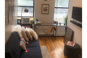 Beautiful Sunny Furnished One Bedroom Apartment in the Cool LES for Short Term Rental